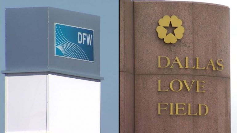 Resumption of flights at DFW, Love Field Airports after an FAA ground layover, expected delay - NBC 5 Dallas-Fort Worth