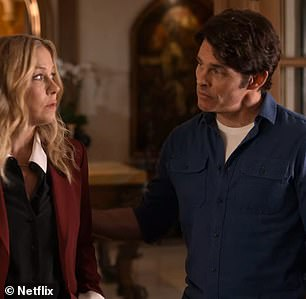 Marsden was recently seen on the small screen, at Netflix's Dead To Me with Christina Applegate