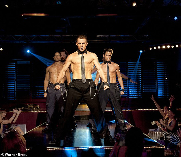 Box Office Hit: Magic Mike focuses on the character Channing Tatum making a living as a stripper at the Executive Strip Club in Tampa, Florida, co-starring Joe Manganiello, Matt Bomer and Matthew McConaughey
