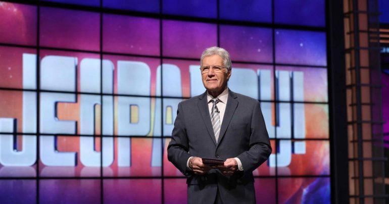 Alex Trebek praises Jeopardy with nostalgia for its latest show