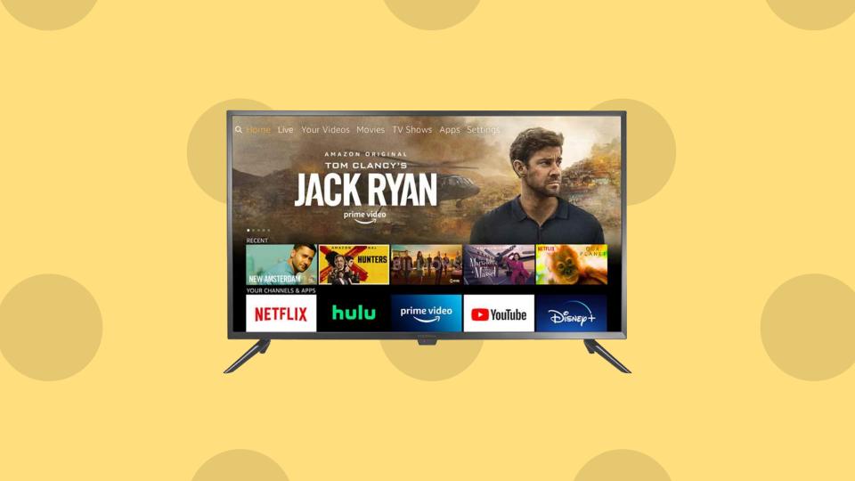 Save 33 percent on Insignia 24 '' Smart HD TV - Fire TV Edition. (Image: Amazon)