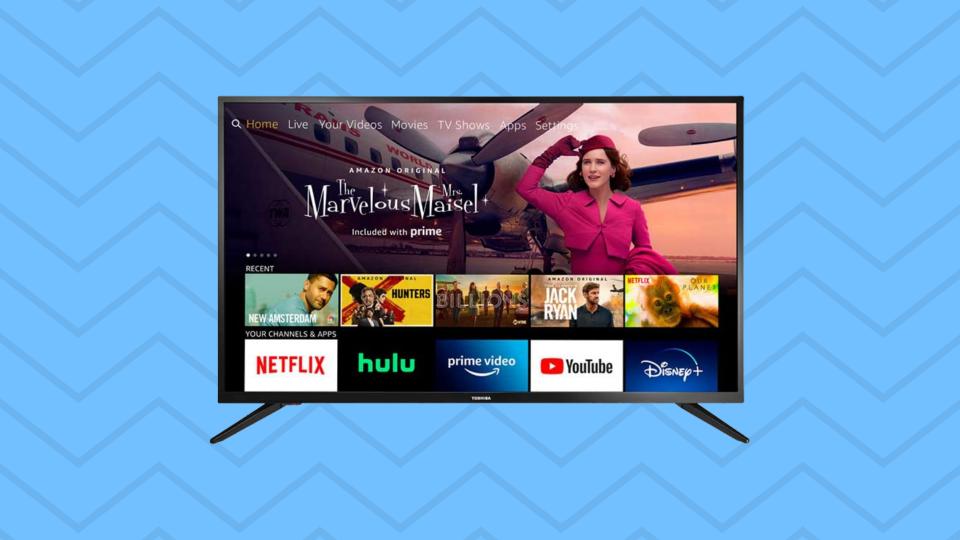 Save nearly 30 percent on 32-inch Toshiba Smart HD TV - Fire TV Edition. (Image: Amazon)