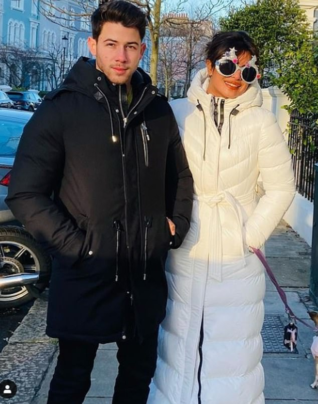 Just the two of us: The 38-year-old actress has loved spending a lot of fun time with her husband over the last months, as they are usually very busy in their career;  Seen in London together