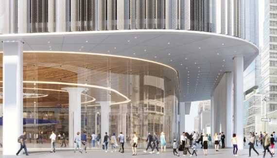 The Port Authority decides to build a new bus station in the footprint of the current station