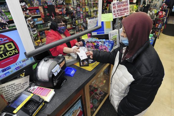 Almost $ 1 billion Mega Millions award due to long odds and slow sales