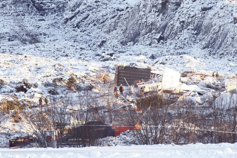 Second body found at site of Norway landslide