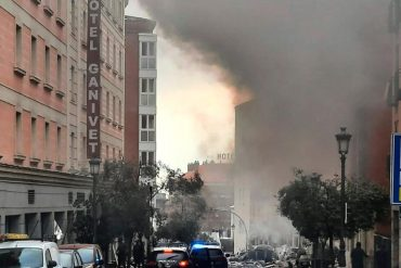 Madrid explosion: 3 dead and several wounded, as a result of an explosion that rocked the Spanish capital