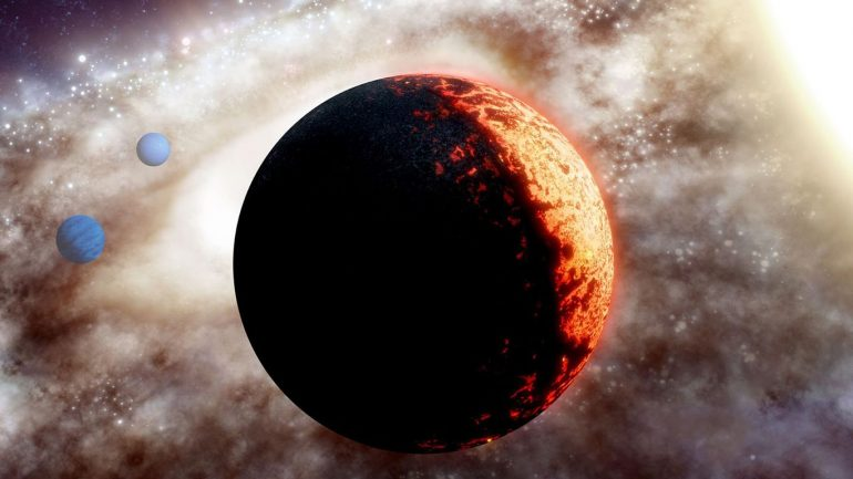 A scorchingly hot, thick 'Super Earth' discovered by scientists