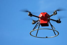 The Federal Aviation Administration approves the first fully automated commercial drone flights