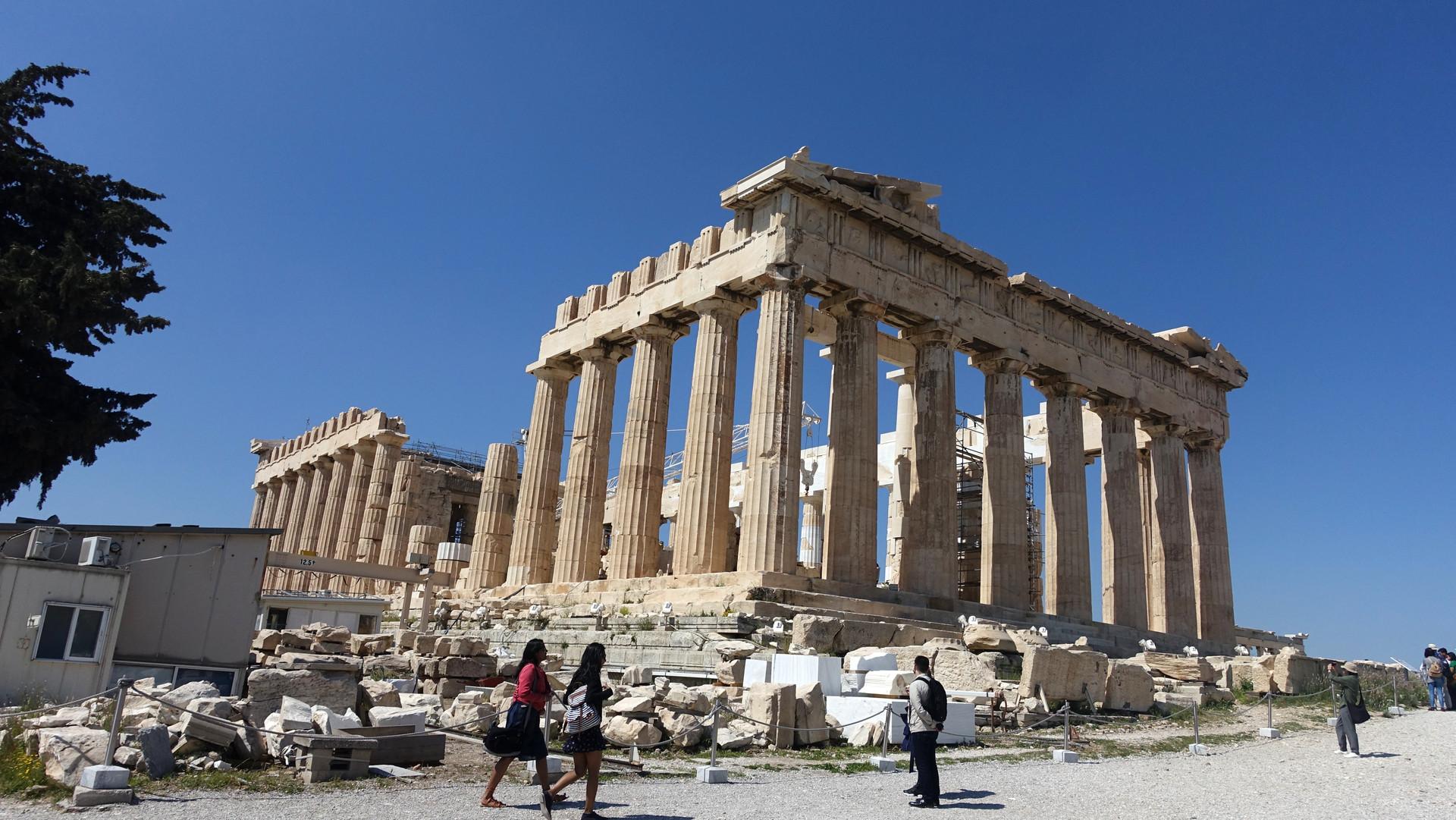 Parthenontemplet I am Aton.