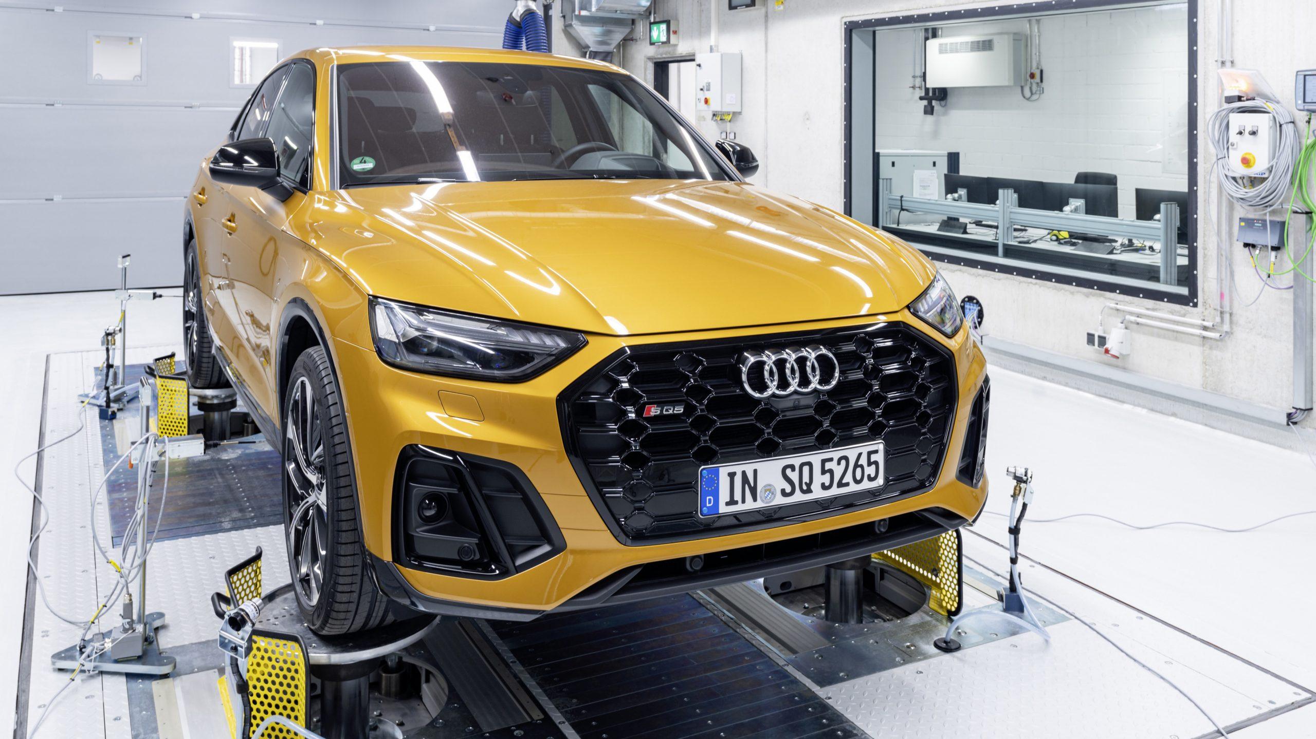Audi Tik Tok audio and acoustics